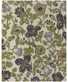 This is an original 1930's floral design. It was printed as a wood block print at Liberty's Merton print works. Meadow was revived by Susan Collier in the 1970s and has been on Classic Tana since 1986.