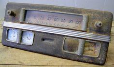 Vintage Car/Truck  Instrument Panel Speedometer Cluster Salvage Part