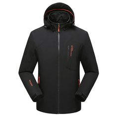 (62.00$)  Buy here - http://ai32b.worlditems.win/all/product.php?id=32628163093 - Thin jacket outdoor mountaineering Male shark skin elastic single soft shell jacket
