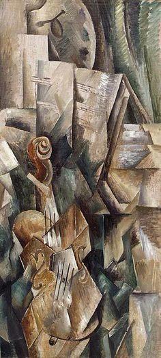 Braque- cubism | Creative Insperations | Pinterest ...