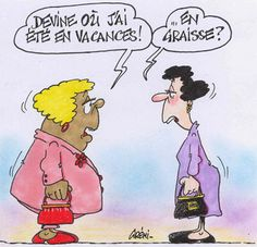 Mimi, devine où j'ai été en vacances l'été dernier ?   #humour #régime