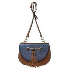 b3fb40d8573b Liz Soto Cute Snaffle Tassle Crossbody Handbag Stores