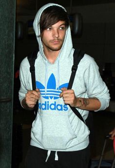 adidas needs to give louis a modeling job