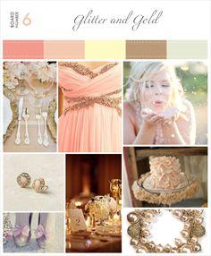 Glitter Blush Pink And Gold Wedding   Inspiration-#6-Glitter-and-Gold