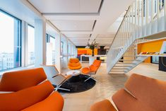 The Health-Minded Approach to PwC Switzerland's Bright New Workspace