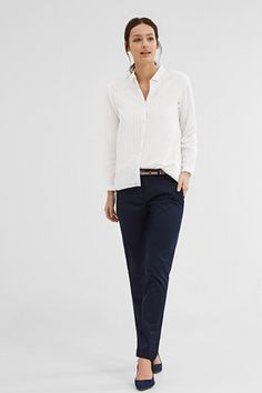 Shop the full Esprit collection for all seasons for Women, Men, kids and Maternity styles Stretch Chinos, Maternity Fashion, Neue Trends, Kids Outfits, Feminine, My Style, Pants, Clothes, Shopping