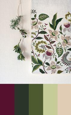 Farbe Study, xYumiko Higuchi Stickerei, 64