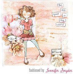 Julie Nutting Bonanza! Canvas by Jennifer Snyder