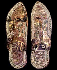 Tutankhamun Sandals Egyptian Kings, Egyptian Pharaohs, Ancient Egyptian Art, Ancient History, European History, Ancient Aliens, Ancient Greece, American History, Ancient Egypt Fashion