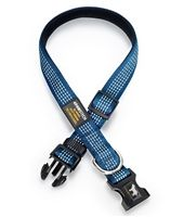 Get the Royal Blue Reflective Dog Collar for your dog that acts like royalty! It's safe and stylish!
