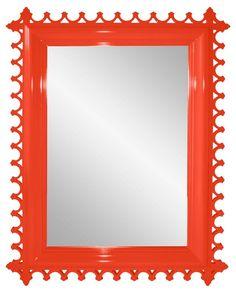 Newport Wall Mirror, Coral
