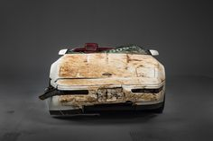 A second Chevrolet Corvette damaged after a sinkhole opened suddenly in the floor of the National Corvette Museum in Bowling Green, KY last year has been restored and is back on display in the muse...
