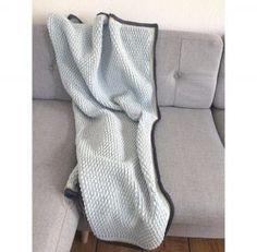 Ripple stitch - tæppe