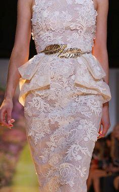 Zuhair Murad Haute Couture 2014 Details
