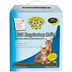 Dr Elsey's R & R Respiratory Relief Silica Cat Litter, Lb. Kitty Litter Cake, Cat Litter Pan, Training A Kitten, Litter Box Covers, Herbal Essences, Biodegradable Products, Pet Supplies, Herbalism, Kittens