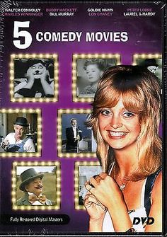 1 DVD 5 Comedy's Nothing Sacred, Loose Shoes, Lovers & Liars, My Dear Secretary