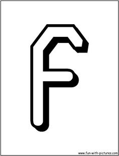 F | Letter f coloring pages