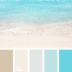 Color palettes 540009811560002682 - Color Palette Source by Ocean Color Palette, Beach Color Palettes, Color Schemes Colour Palettes, Pastel Palette, Colour Pallete, Beach Color Schemes, Beige Color Palette, Bathroom Color Schemes, Bathroom Paint Colors