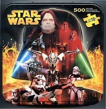 Details about  500 pc Puzzle Star Wars 2 sided Darth Vader shap