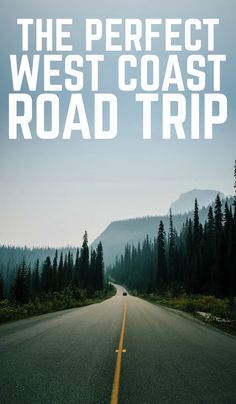 If you're looking for inspiration for your next American road trip on the West Coast, then check out this perfect West American road trip! Looking for inspiration for your next road trip on the West Coast? Here's the perfect West American road trip! Road Trip Essentials, Road Trip Hacks, Road Trips, Places To Travel, Places To Go, Perfect Road Trip, West Coast Road Trip, Prague Travel, Travel Necessities