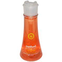 Method, 食器用洗剤、クレメンタイン、18 fl oz (532 ml)