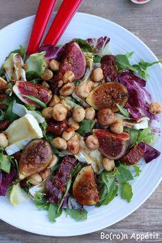 Blog Bo(ro)n Appétit: Sałatka z figami