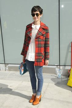 tartan plaid jacket!