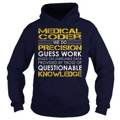 Medical Coder - Job Title T-Shirts, Hoodies (39.99$ ==► Order Here!)