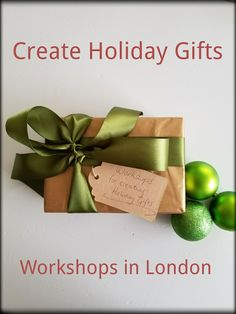 Discover creative workshops in London for DIY Christmas gifts. Diy Christmas Gifts, Holiday Gifts, Christmas Wreaths, Creative Workshop, Things To Do In London, Rustic Signs, Terrariums, Woodwork, Ontario