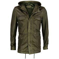 VIPARO Khaki Green Lambskin Leather Zip Hooded Anorak Parka Jacket - Dominic VIPARO, http://www.amazon.co.uk/dp/B00CJ89LL0/ref=cm_sw_r_pi_dp_3zMfsb0WD80YZ