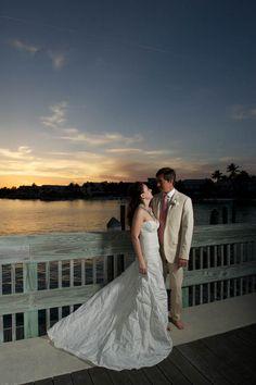 Coral and Blue Wedding at Casa Marina Resort, Key West