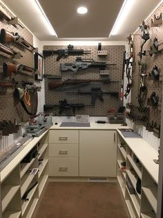 Airsoft hub is a social network that connects people with a passion for airsoft. Talk about the latest airsoft guns, tactical gear or simply share with others on this network Hidden Gun Storage, Weapon Storage, Secret Gun Storage, Ammo Storage, Gun Safe Room, Gun Safe Diy, Gun Closet, Reloading Room, Gun Vault