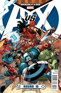 Avengers Vs. X-Men # 10 (Variant) by Nick Bradshaw