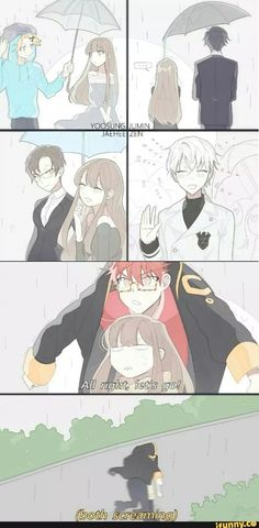 This is why I love 707 xD
