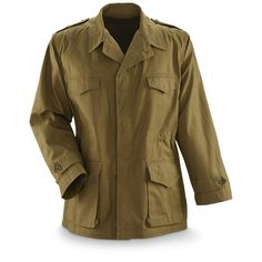 French Military Issue Men's M47 Field Jacket, Vintage, New
