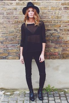 Millie Mackintosh wearing River Island top & trousers #riverisland