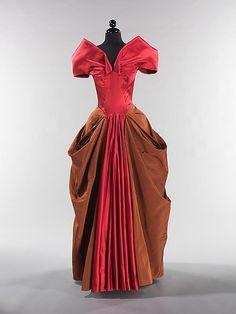 Evening dress, Charles James, 1946