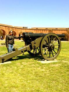 Fort Pulaski in Savannah Georgia