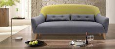 Οι καμπύλες του και η άνεση αυτού του διθέσιου καναπέ θα σας σαγηνεύσουν... #epiplaki #sofa #καναπες Sofa, Couch, Love Seat, Furniture, Home Decor, Decoration Home, Room Decor, Settee, Small Sofa