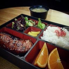 Bento boxes at Japas |This place serves up delicious Japanese food at a very reasonable price. It's the perfect place to grab a quick lunch.