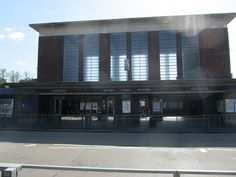 The main entrance to Acton Town London Underground station. With lens flare worthy of JJ Abrams! | Flickr - Photo Sharing!