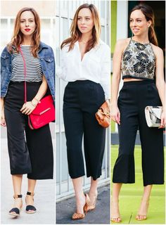 Sydne Style - Staples Series: How to Wear Culottes