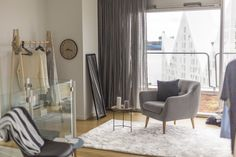 jysk - the apartment - Caroline Berg Eriksen Home Bedroom, My Dream Home, Sweet Home, Lounge, Curtains, Interior, Home Decor, My Dream House, Cold