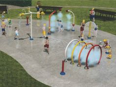 #Vortex #Splashpad opening at Virgil Sports Park, Niagara on the Lake, ON | NiagaraThisWeek Article | www.vortex-intl.com