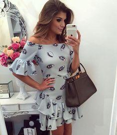 Modelos de vestidos cortos casuales 2019