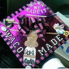 Nichole 'Tweetybird' Thames December 2014 Graduate. I had the honor of decorating her cap! Thanks for letting me be apart of your BIG Day! #GraduationREADY #CapsByOptimisticK #OrderYourCapToday Contact Katrina Williams Email: kdw1920@gmail.com