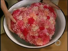 Heart Carnation Arrangement for Valentine's Day Video from Martha Stewart.