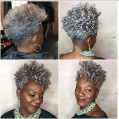 Tapered Cut Hairstyles to Try Best Tapered Haircut for Women Short Hair Short Grey Hair, Short Hair Cuts, Curly Short, Grey Hair Dye, Curly Bob, Tapered Haircut For Women, Short Natural Hairstyles For Black Women Tapered, Natural Women, Curly Hair Styles