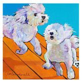 """Found it at Wayfair - """"Catch Me"""" by Pat Saunders-White Painting Print on Canvas"""