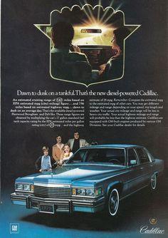 "Cadillac, ""...new diesel-powered Cadillac"", 1979"